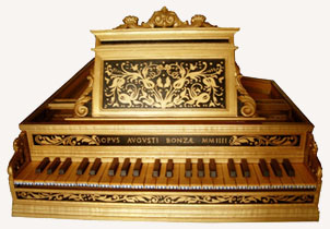 Harpsichord after anonymous XVI century